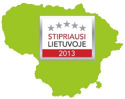 Stipriausi Lietuvoje 2013